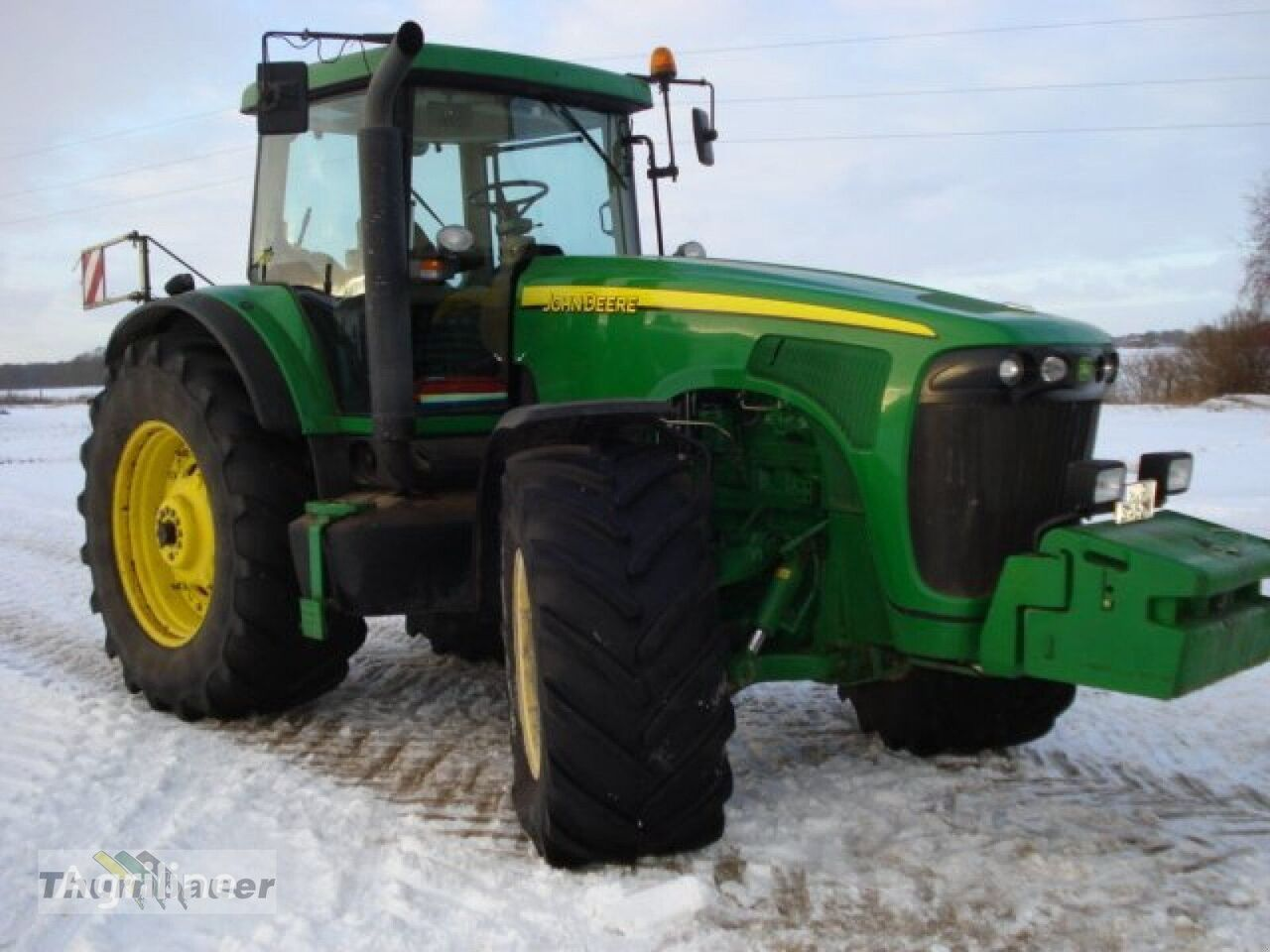 трактор колесный JOHN DEERE Kabine 8020 Serie
