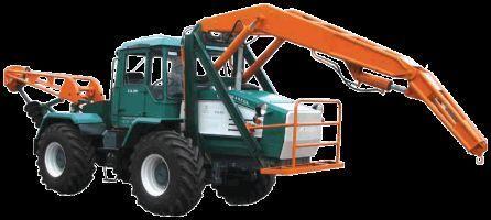 трактор колесный ХТА-200-БКМ