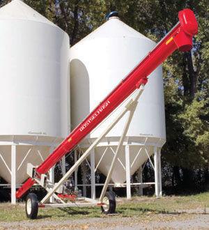 новый зернометатель РОСТСЕЛЬМАШ Транспортер зерна шнековый ТШ