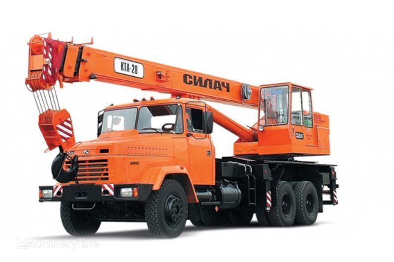 автокран КРАЗ 65053 (КТА-28)