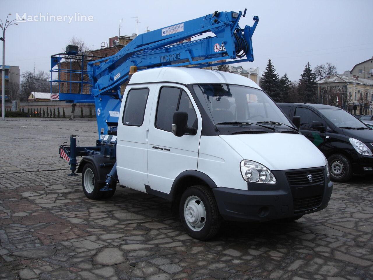 новая автовышка ГАЗ Автовышка ПМС-212-02