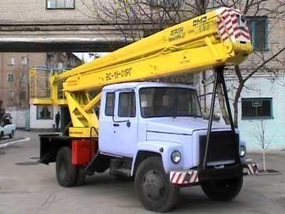 автовышка ГАЗ ВС—18 Подъемник ВС—18 с 5ти местной кабиной