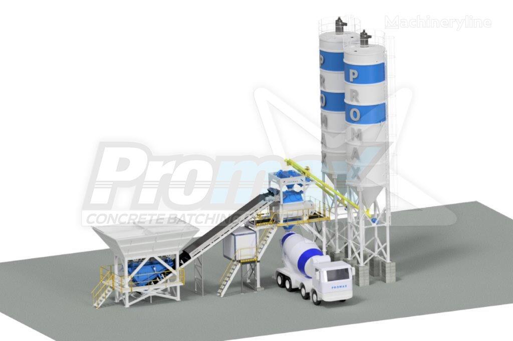 новый бетонный завод PROMAX Planta de hormigón  Compacta C100-TWN PLUS (100m³ / h)