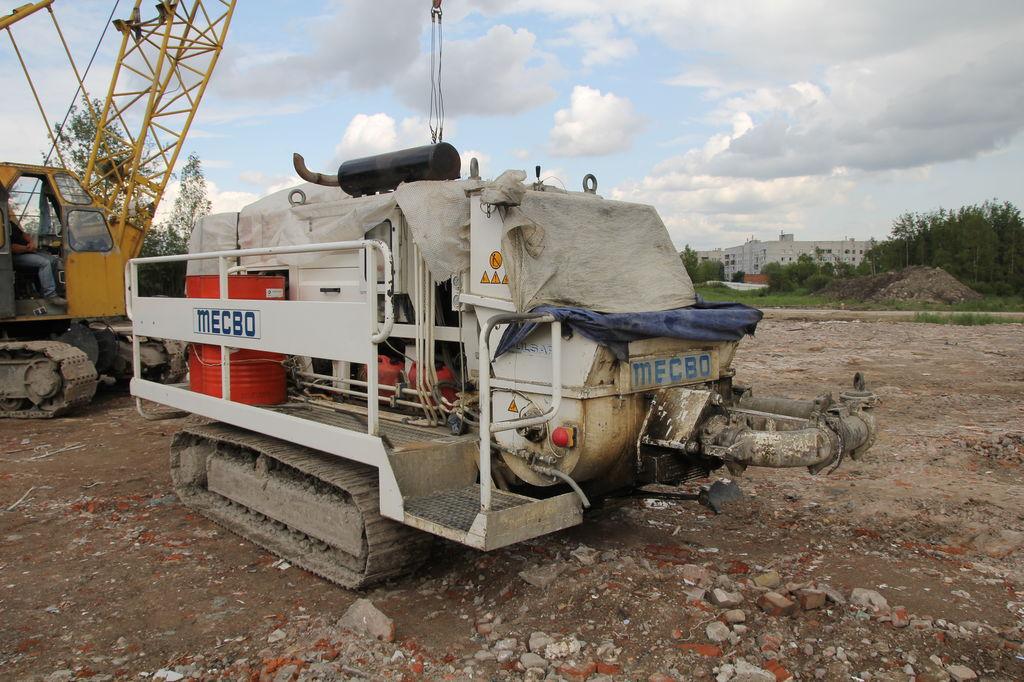 бетононасос стационарный Mecbo P-6.80