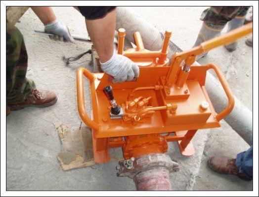 новый бетононасос стационарный Гидравлические задвижки бетоновода (Южная Корея)