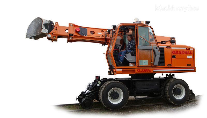 новый экскаватор на рельсовом ходу GRADALL XL 3300