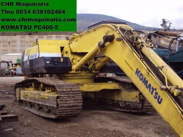 гусеничный экскаватор KOMATSU PC400-5