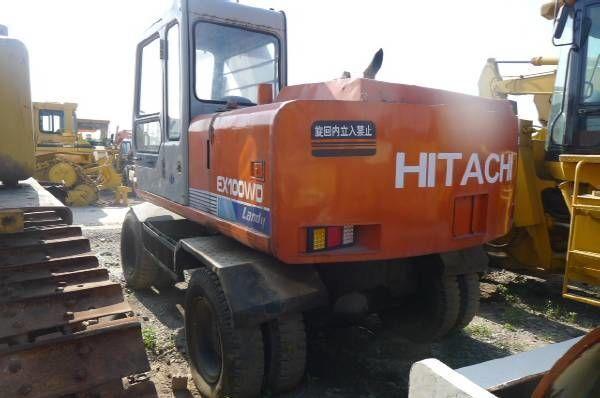 колесный экскаватор HITACHI EX100WD