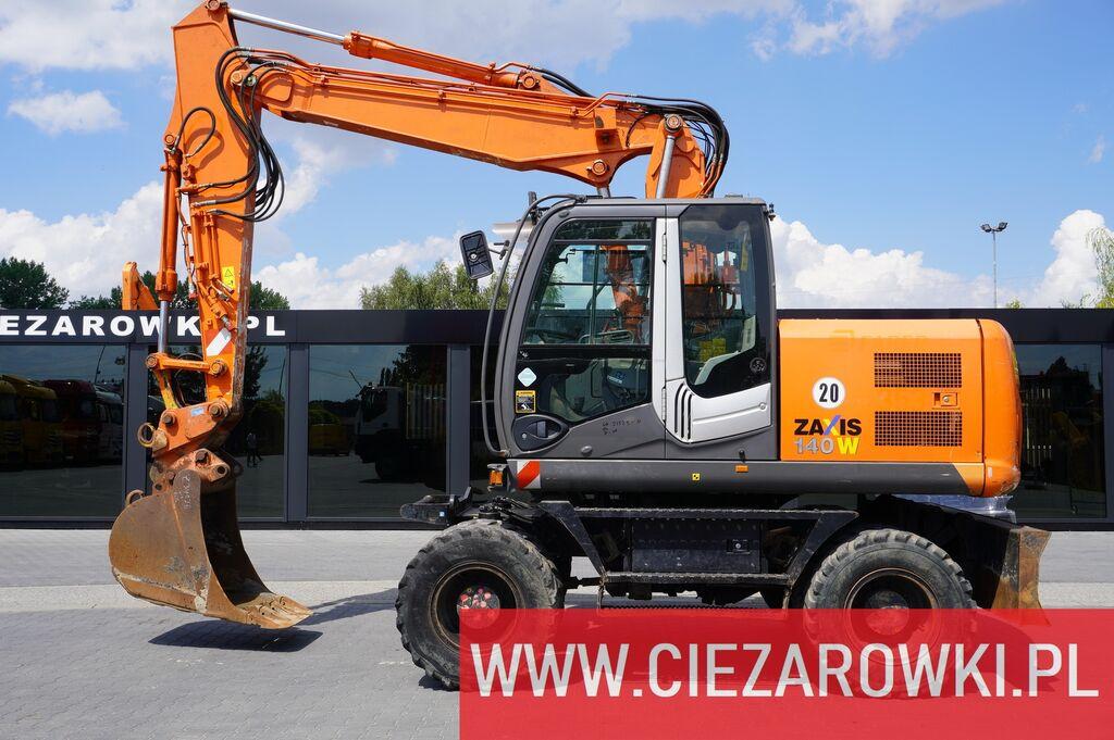 колесный экскаватор HITACHI ZAXIS ZX140W-3 , 3 x piece boom , 16,5T , quick coupler , A/C