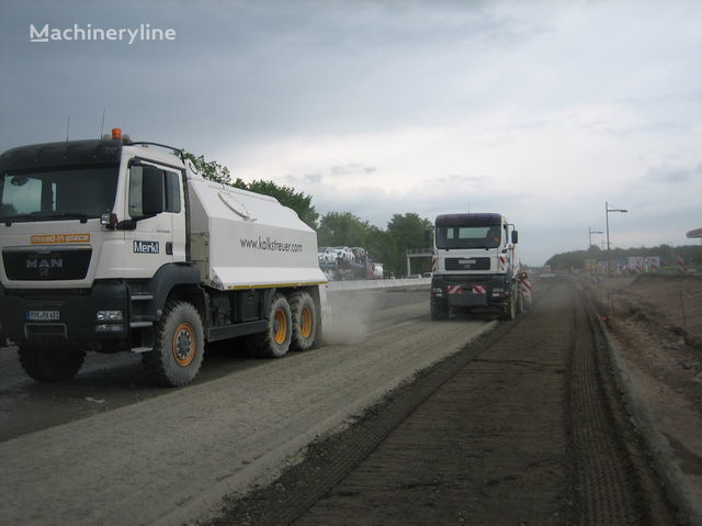 новый ресайклер MAN amag cement spreader MAN TGS 33.440 - 6x6