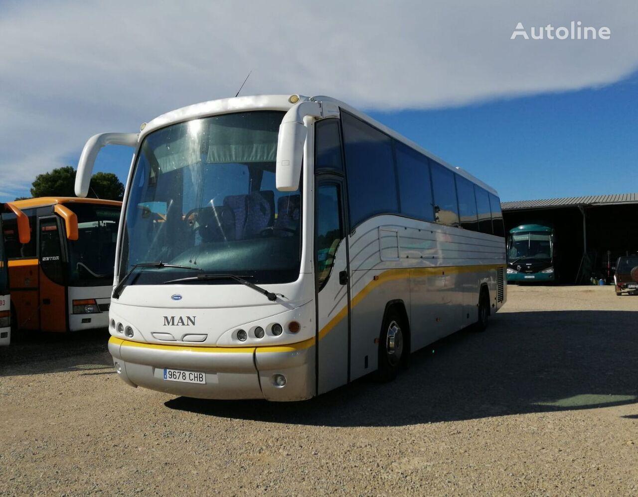 туристический автобус MAN 18.410 HOCL ANDECAR  + 410CV + 57 PAX + WC