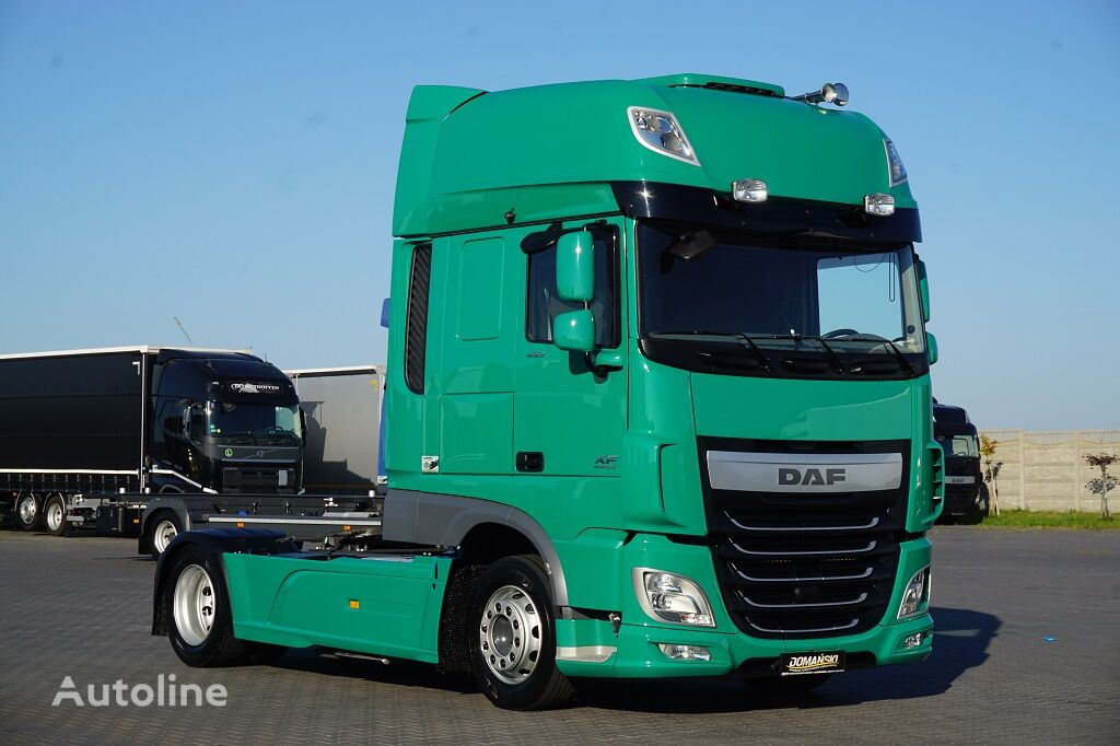 тягач DAF / 106 / 460 / EURO 6 / ACC / SSC / RETARDER / MEGA / LOW DECK