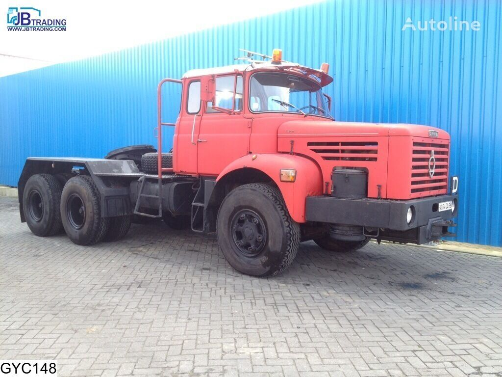 тягач BERLIET TBO , Manual, Steel suspension, Naafreductie