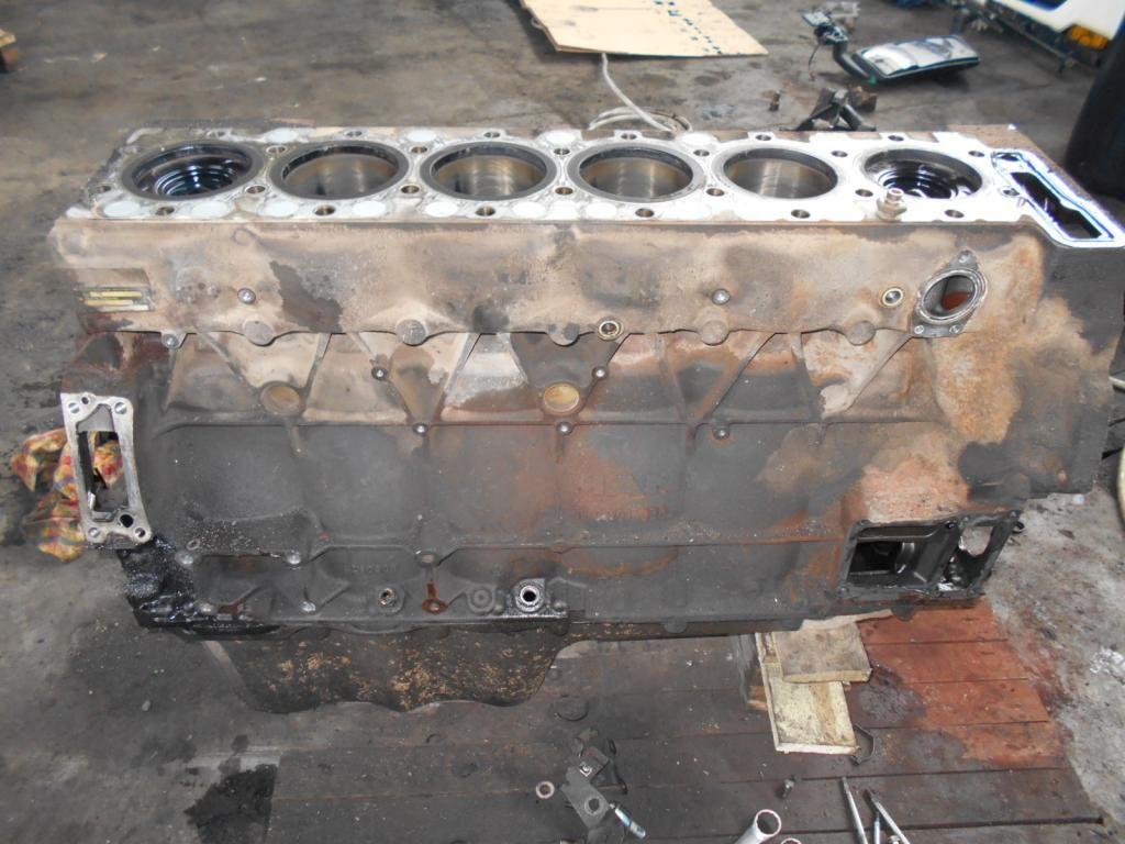 блок цилиндров MAN 430PS, EURO3 для тягача MAN TGA