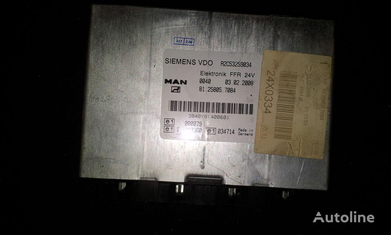 блок управления  MAN FFR control unit, ECU, 81258057084, Siemens VDO, 81258057084, 81258057088, 81258057081, 81258057082, 81258057083, 81258057084, 81258057087, 81258057089, 81258057088 для тягача MAN TGX