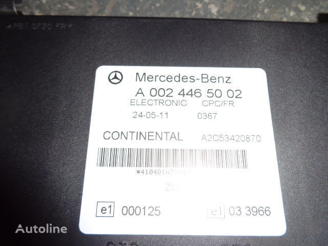 блок управления  Mercedes Benz Actros MP3 FR unit ECU 0024465002, 0034464202, 0024463102, 0024463505, 0024464802, 0034464402, 0034465102, 0034465502, 0044460002 для тягача MERCEDES-BENZ Actros
