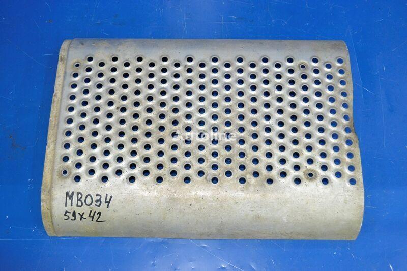 другая запчасть выхлопной системы Накладка глушителя  MERCEDES-BENZ (A9424921930) для грузовика MERCEDES-BENZ Actros MP1 (1996-2002)