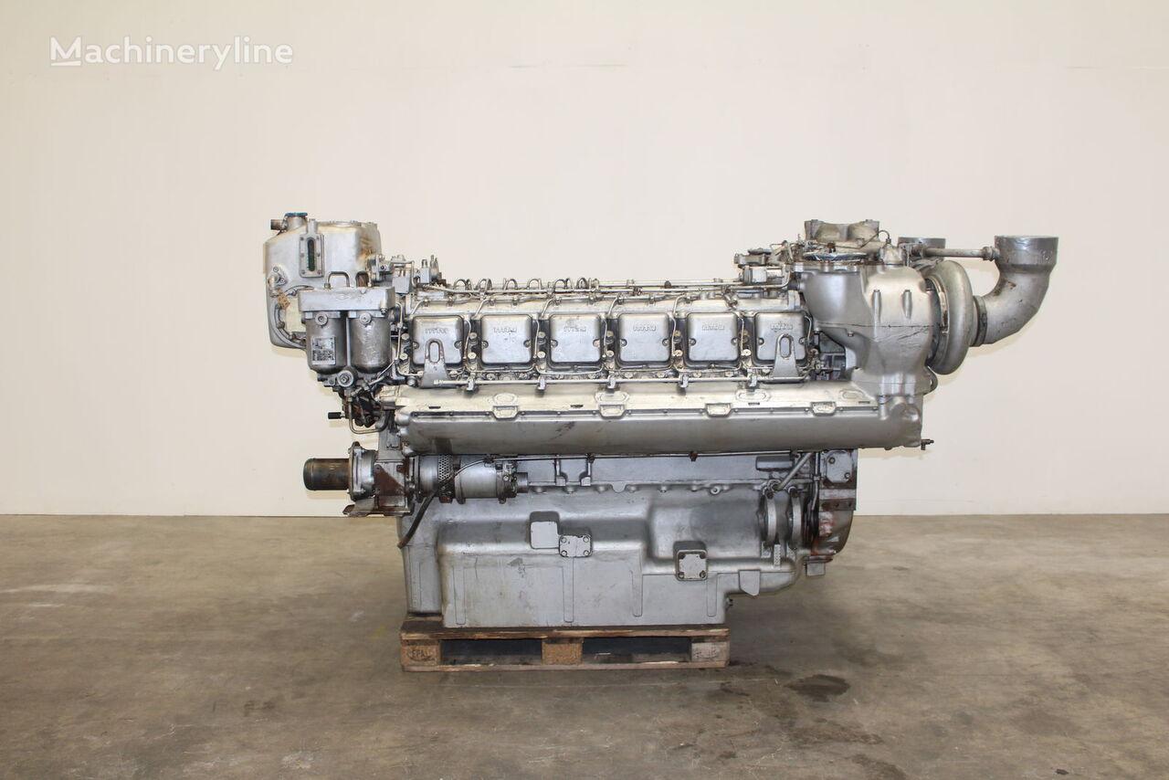 двигатель MTU для другого генератора