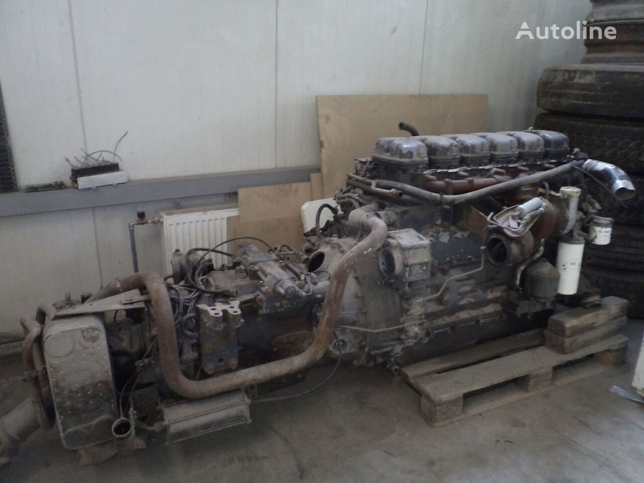 двигатель SCANIA DSC12.05 0.88 для автобуса SCANIA