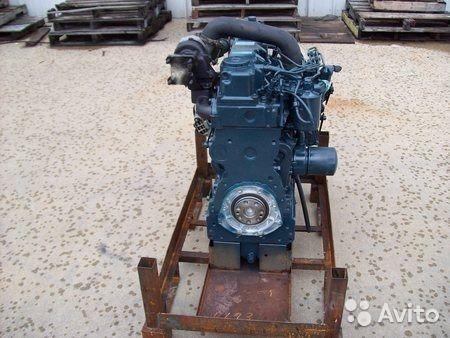 двигатель YANMAR для погрузчика KOMATSU