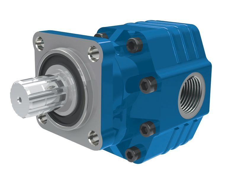 новый гидравлический насос  BINNOTTO Италия ISO 82 л на 4 болта.Гидравлика для самосвала для тягача
