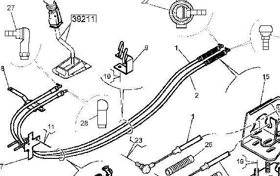 новая КПП  ZF ТРОС КПП 5010452013.5001870062.5001870063.5010452013 для грузовика RENAULT MAGNUM PREMIUM