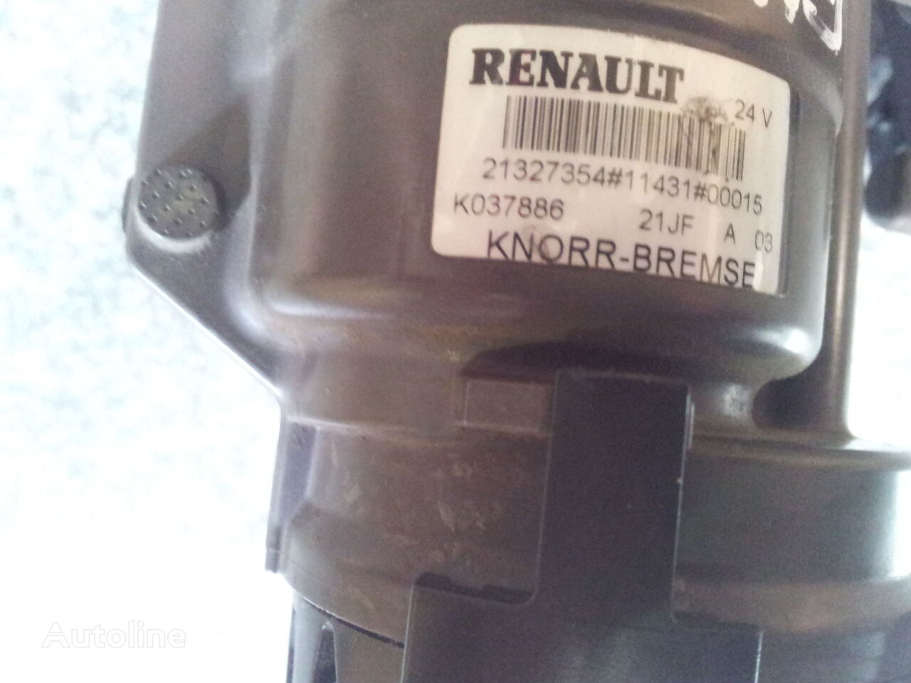 кран RENAULT VOLVO FH4, Range, , EURO6, EBS modulator, 7421327354, 211149 для тягача RENAULT Gama
