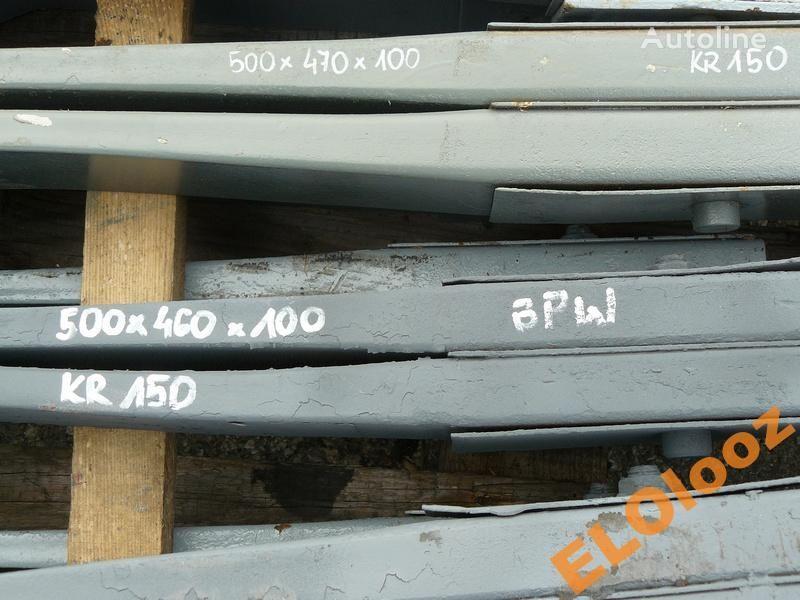 листовая рессора для грузовика PÓŁ 500x460x100 BPW KR150