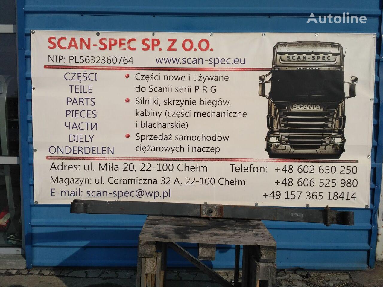листовая рессора SCANIA Przedni для тягача SCANIA P R G T