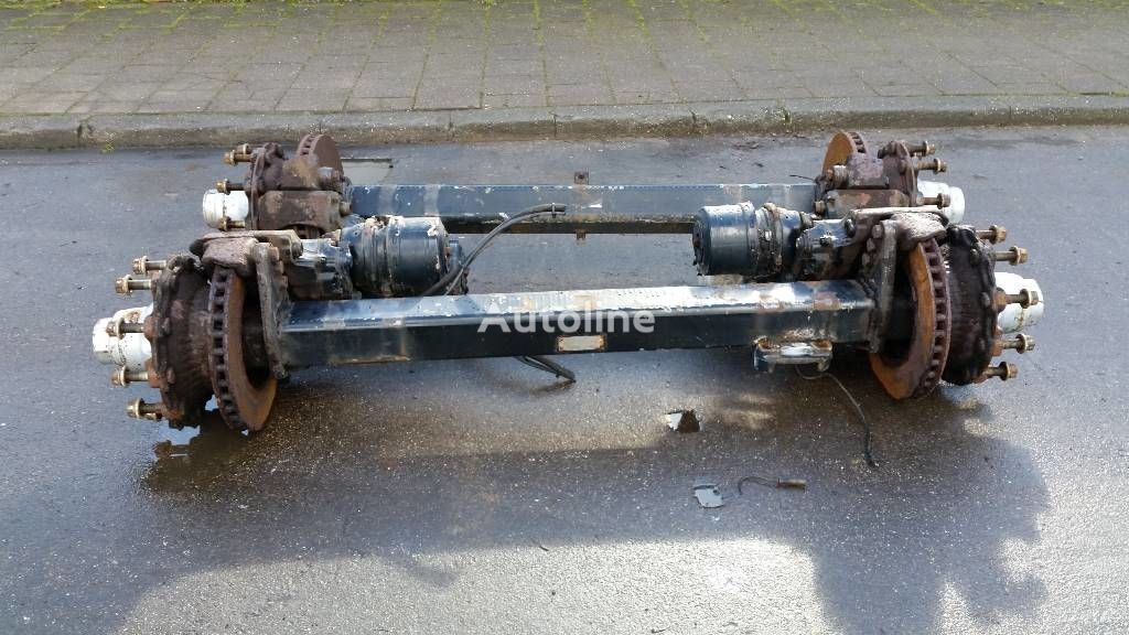 ось  BPW ECO для прицепа BPW ECO TRAILER AXLES