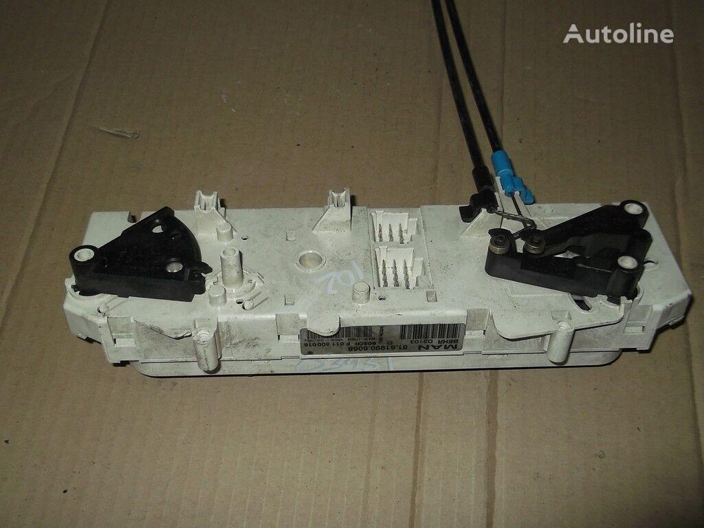 панель приборов  Блок управлением печкой и кондиционером для грузовика MAN
