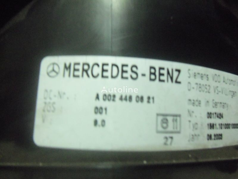 панель приборов  Mercedes Benz Actros MP2, MP3, MP4, INS electronic instrument panel 0024461321 cluster, 0024464321, 0024467421, 0024469921, 0034460521, 0044460621, 0044461821, 0014467021, 0024460721, 0024461421, 0024464421, 0024467521, 0034460021, 0034460621, 0044461921, для тягача MERCEDES-BENZ Actros