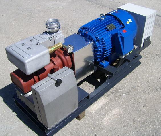 пневмокомпрессор для цистерны CG80 GHH RAND z silnikiem elektrycznym