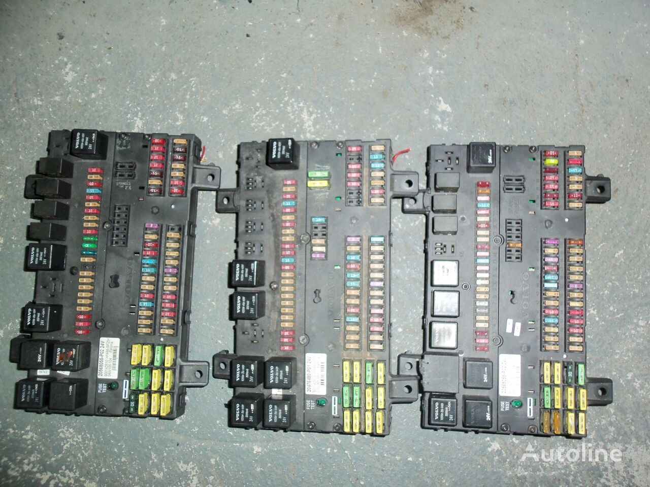 предохранительная коробка  VOLVO FH13 fuse and relay center, central electrical box 20568055, 21732199 для тягача VOLVO FH13