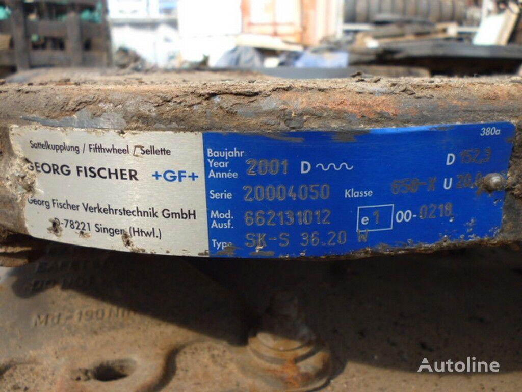 седельное устройство  В=153 Д=885 Ш=405 для грузовика