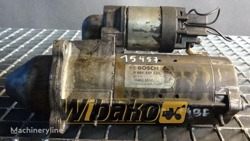 стартер  Starter Bosch 0001231026 для другой спецтехники 0001231026