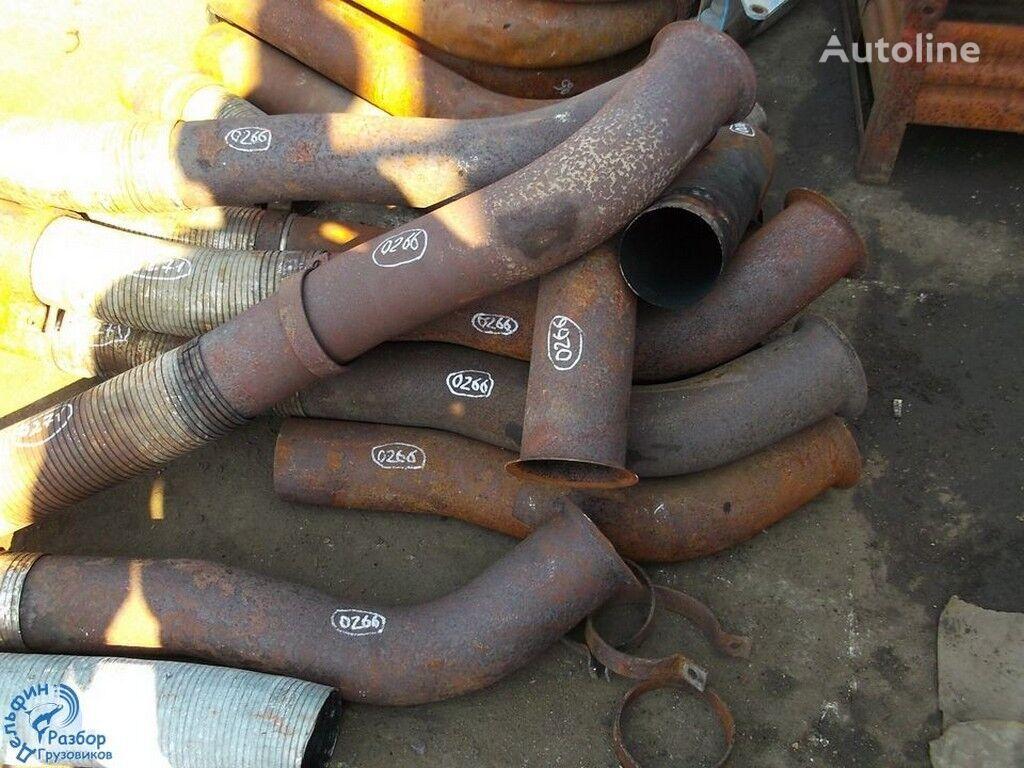 труба выхлопная  Труба глушителя с турбины для грузовика