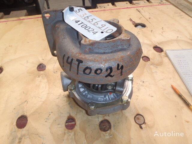 новый турбокомпрессор двигателя для грузовика